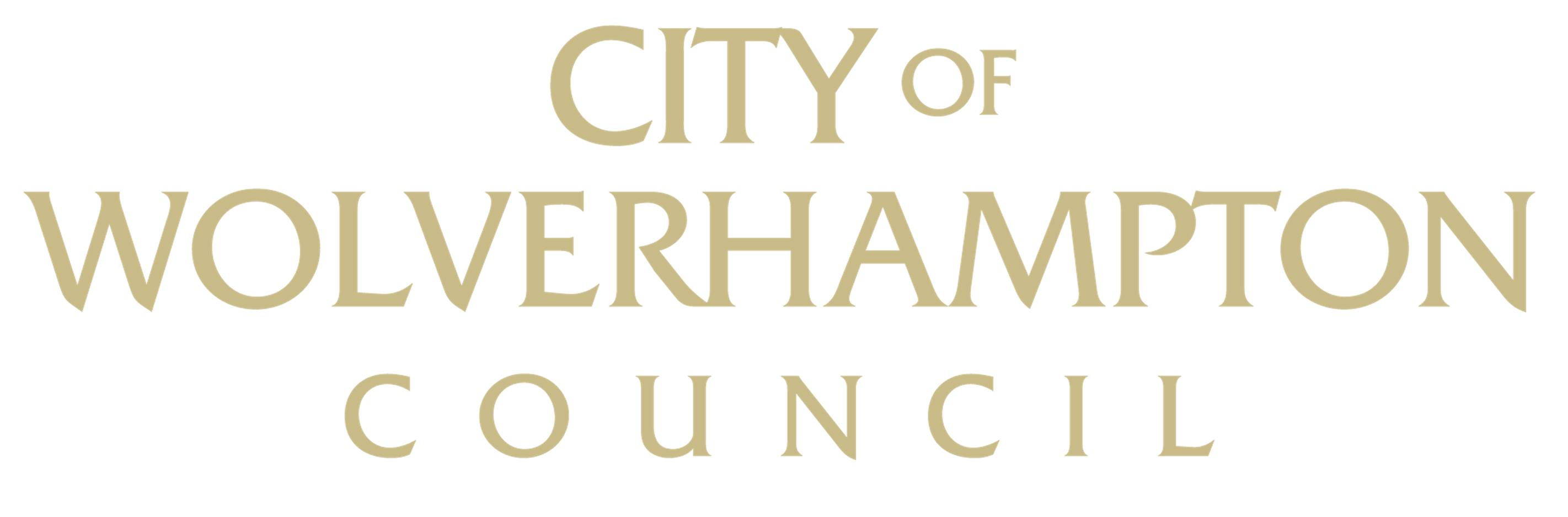 City of Wolverhampton Council logo (gold)